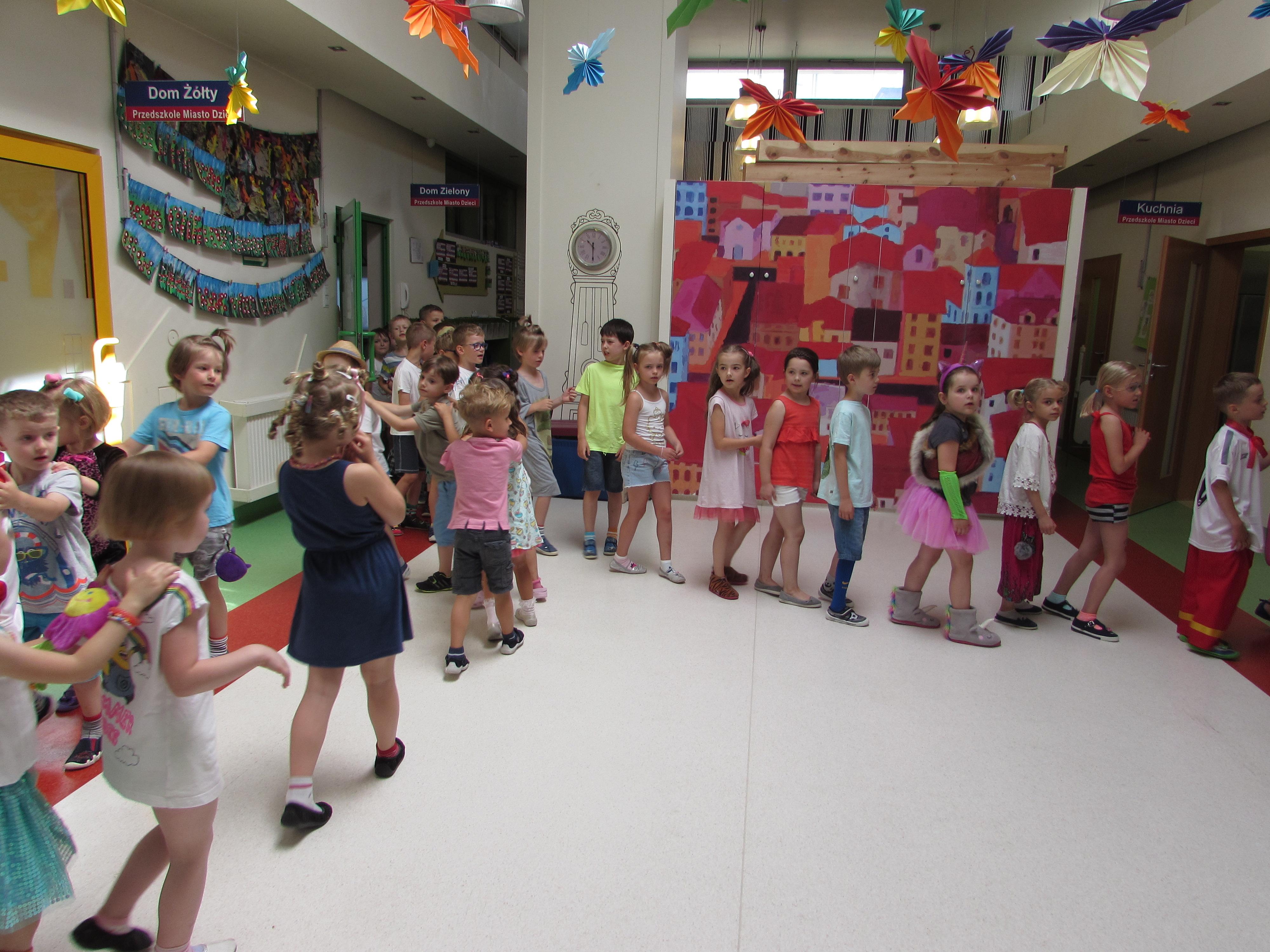 Dzien Dziecka W Przedszkolu Przedszkole Miasto Dzieci